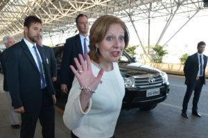 Nova embaixadora dos EUA no Brasil – Fiquem de olho em Liliana Ayalde