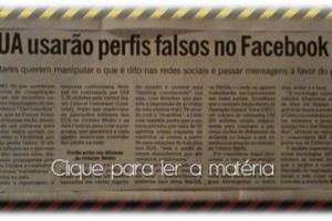 EUA usarão Perfis Falsos no Facebook